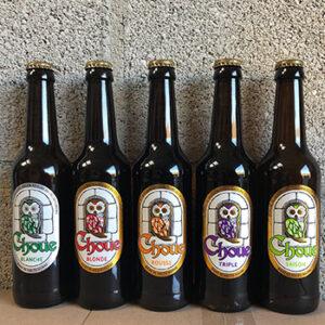 Bière Choue Brasserie de Vauclair, fabriqué en France