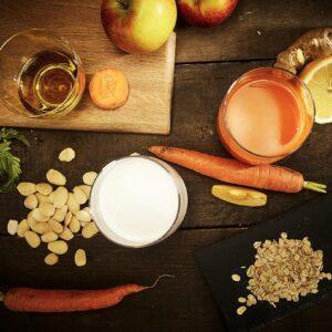 Jus de fruits et légumes Akareva, fabriqué en France à Strasbourg dans le Grand-Est