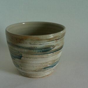 Tasse en céramique Anny Lecoq, fabriquée en Savoie