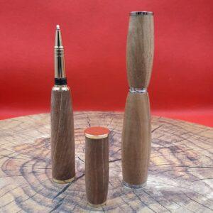 """Stylo original en bois Atelier de la Faine, fabriqué en France en Côte d""""Or"""