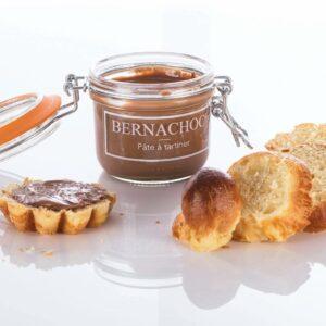 Pâte à tartiner Bernachon, élaborée en France
