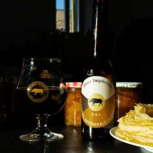 Bière Stout Impériale Brasserie Artisanale du Luberon, élaborée en France dans le Luberon en Provence