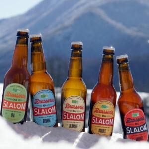 Gamme permanente de bières Brasserie du Slalom, fabriquées en France à Chapelle-en-Vercors en Auvergne-Rhône-Alpes