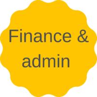 Espace pro finance et admin