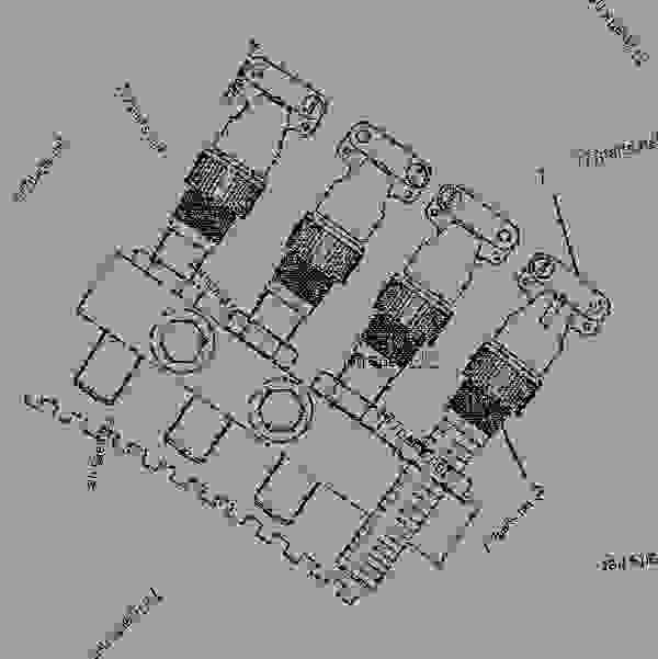 7W1145 SENSOR GROUP-ELECTRONIC (TACHOMETER & SPEED SWITCH