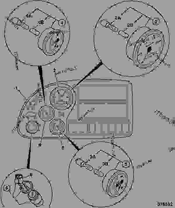 GAUGES, INSTRUMENT, & IGNITION SWITCH, SIDE CONSOLE