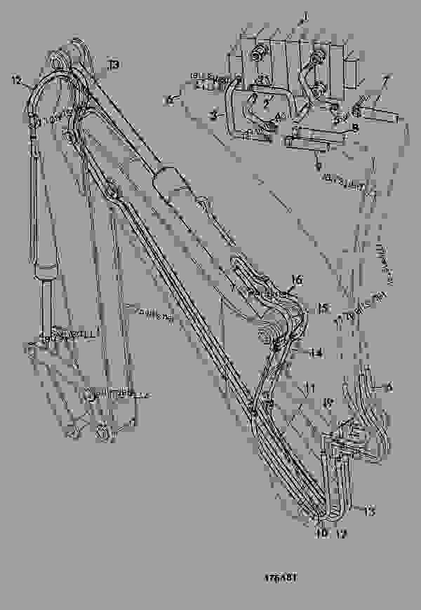 CIRCUIT, ISO PATTERN, DIPPER & BUCKET, 12'0