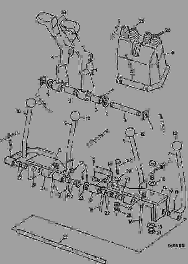 Ford 768 loader parts