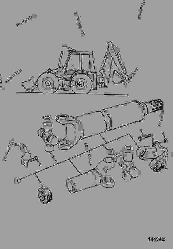 PROPSHAFT, TRANSMISSION, REAR, DRIVE AXLE, MANUAL