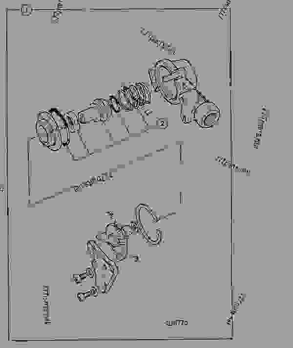 COUPLING, PALM, TRAILER BRAKES, SINGLE LINE, OPTIONAL