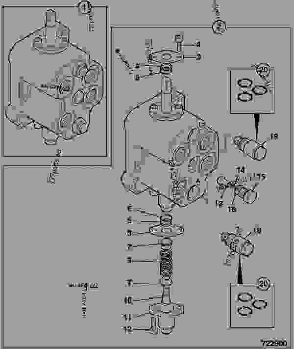 VALVE, AUXILIARY, COMPONENTS, EXCAVATOR, GEAR PUMP