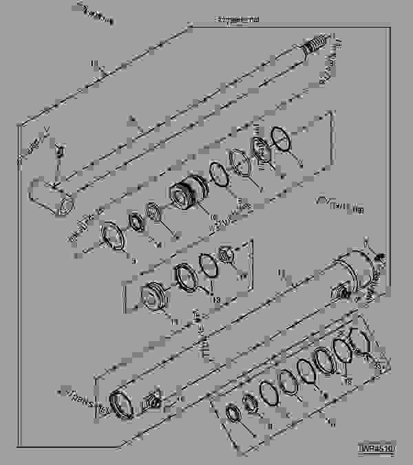 John Deere 410 Wiring Diagram John Deere 410 Tractor