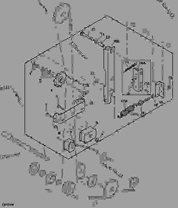 John Deere 466 Round Baler Parts Diagram, John, Free