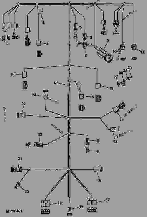 John Deere 3020 Wiring Diagram Free. John Deere. Wiring