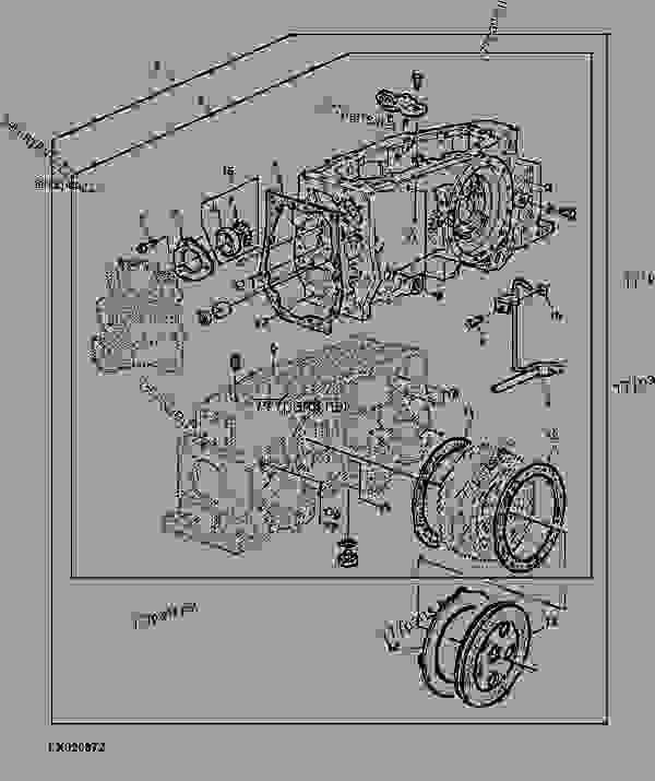 TRANSMISSION CASE CONVERSION KIT (W/INCREASED LIFTING