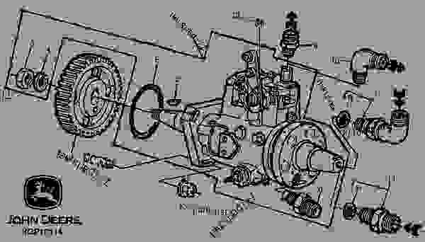 5400 John Deere Wiring Diagram Fuel Injection Pump 05e17 引擎 John Deere 3029 Engine