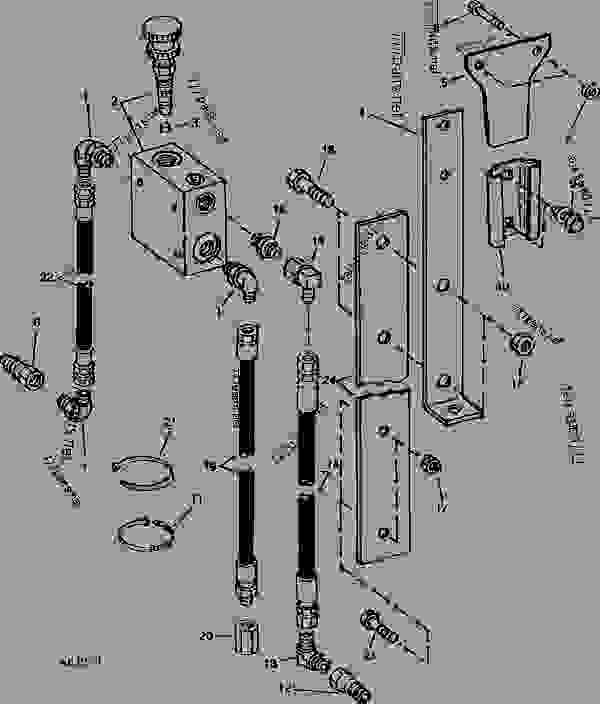 John Deere Planter Wiring Harness Diagram John Deere 430