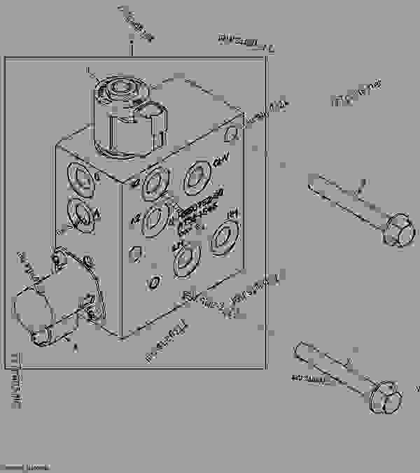 Hydrostatic Control Valve (Manual Controls) (Two Speed