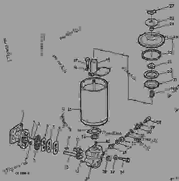 HYDRAULIC PUMP (OPTIONAL ON 342,STANDARD ON 346) [G15