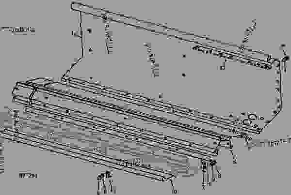 REAR FERTILIZER SHEET AND FILLER (8250 AND 8350 SERIES