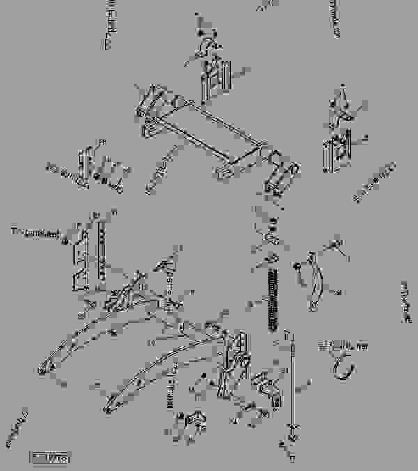John Deere 566 Baler Parts Diagram