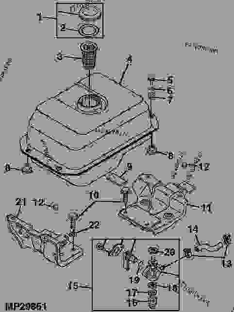 gator 825i fuel filter