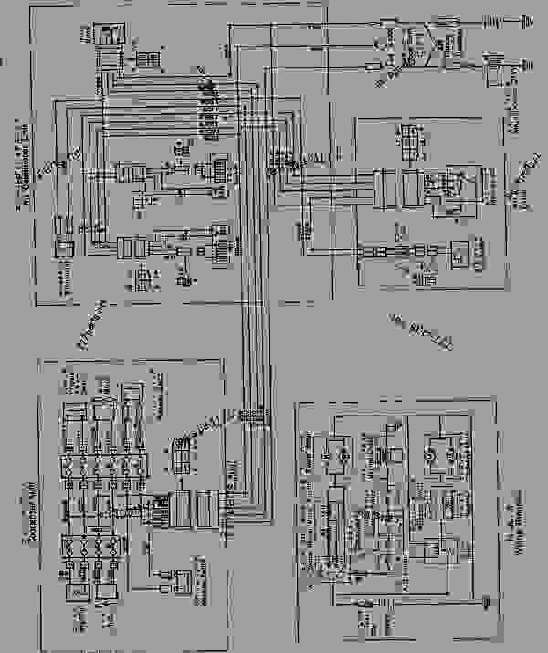 AIR CONDITIONER WIRING DIAGRAM (FOR ROPS CAB)(#15001-16486