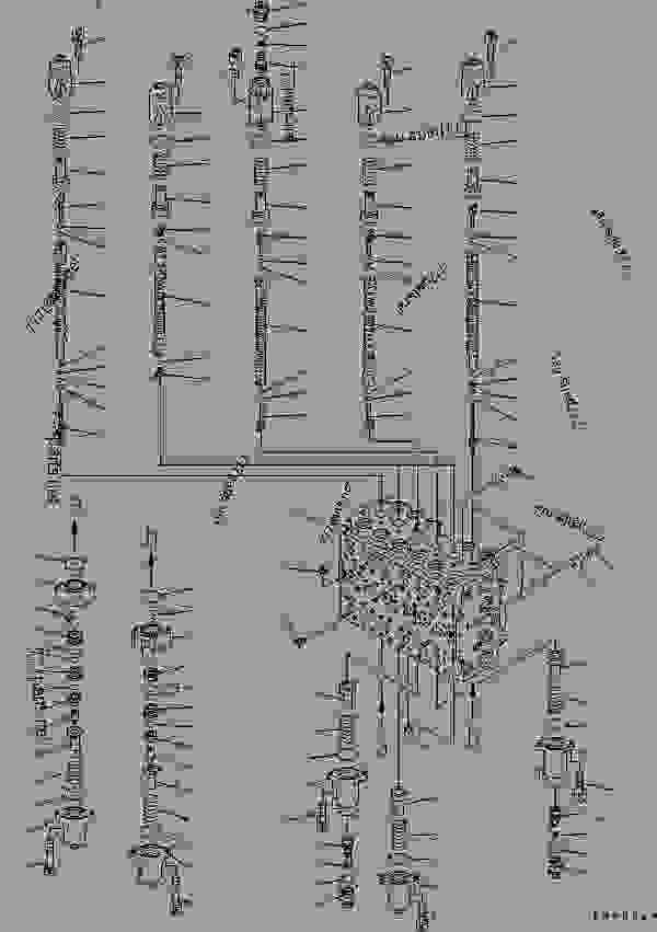 MAIN VALVE (2-ACTUATOR) (1/12) (FOR MONO-BOOM) (DRAWBAR