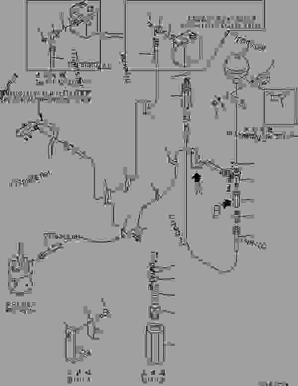 HYDRAULIC LINE (P.P.C. VALVE PILOT AND CHARGE VALVE DRAIN