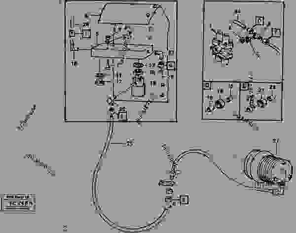 Comp. air controls, exhaust pressure regulator