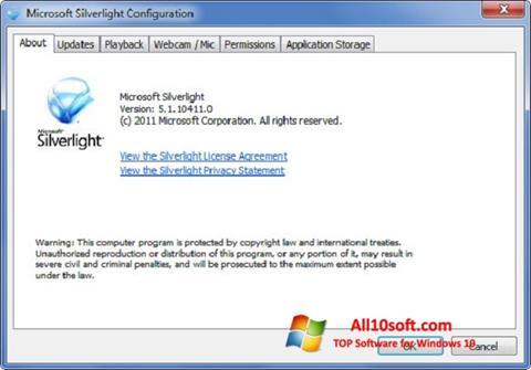 下載 Microsoft Silverlight Windows 10 (32/64 bit) 繁體中文