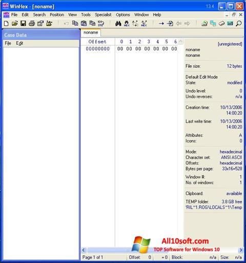 下載 WinHex Windows 10 (32/64 bit) 繁體中文