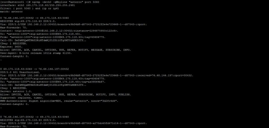 How to use ngrep for fast SIP packet analysis - Call Center Software