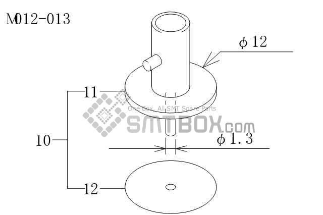 FUJI富士CP6系列SMT SMD吸嘴Nozzle 机型包括CP-6-09 CP-65E-06 CP-65-08