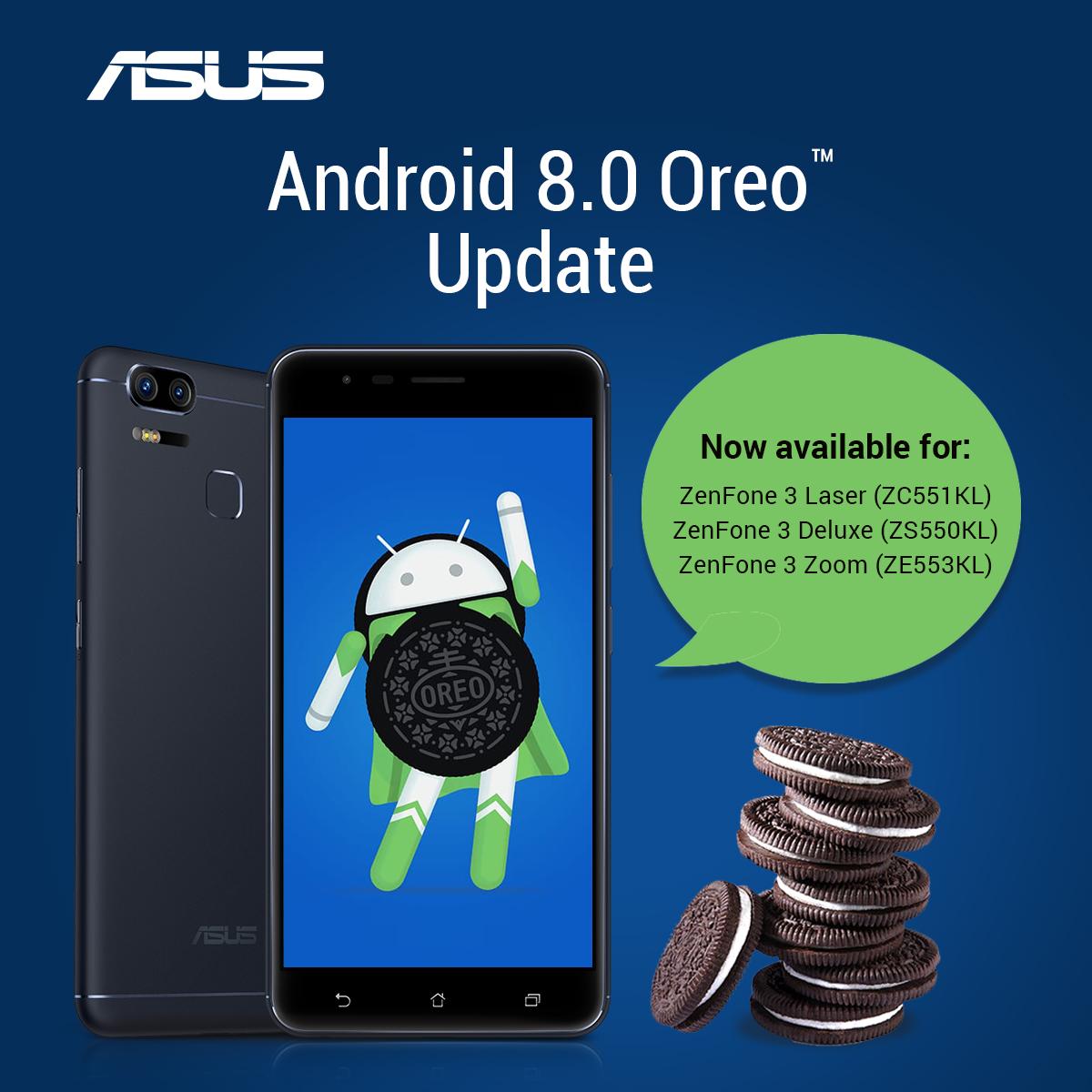 ASUS這次給力!ZenFone 3系列將獲得Android 8.0 Oreo更新! - TechNave 中文版