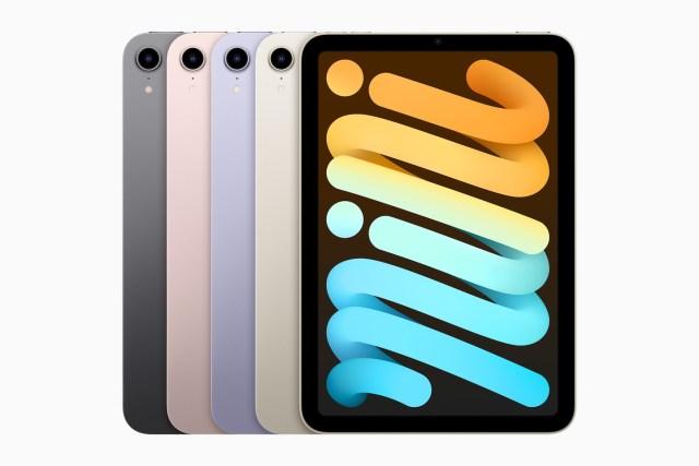 Apple iPad mini colors 09142021 • 库克十年,iPhone 13 告别理想 iPad mini 6, iPhone 13, 封面推荐, 智能硬件, 苹果公司, 观点