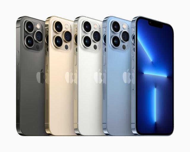 Apple iPhone 13 Pro Colors 09142021 • 库克十年,iPhone 13 告别理想 iPad mini 6, iPhone 13, 封面推荐, 智能硬件, 苹果公司, 观点