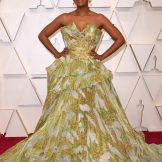 Actress Ryan Michelle Bathe arrives for the 92nd Oscars. Picture: AFP