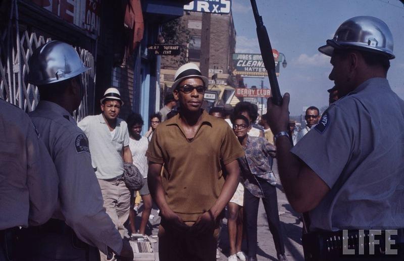 8141 Американский бунт. Детройт, 1967 год