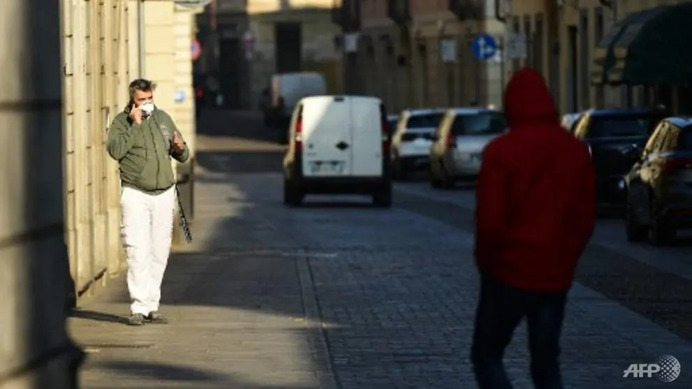 Italy towns under lockdown after first European COVID-19 death ...