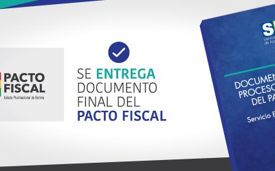 Se entrega documento final del  Pacto Fiscal