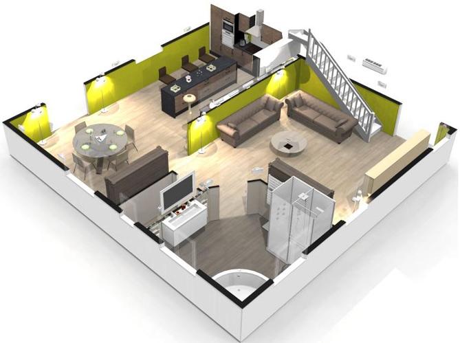 Disegno casa 3d