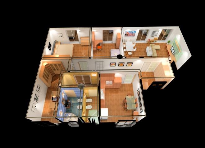 Planimetria casa 3d cna associazione territoriale di for Software planimetria casa