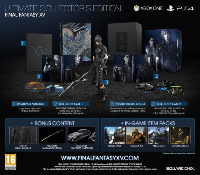 ffxv collectors