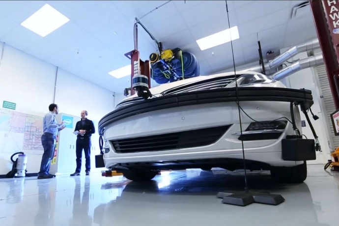 A Look at Intel's Chandler Autonomous Vehicle Lab in Arizona