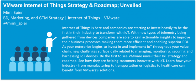 VMware IoT Strategy