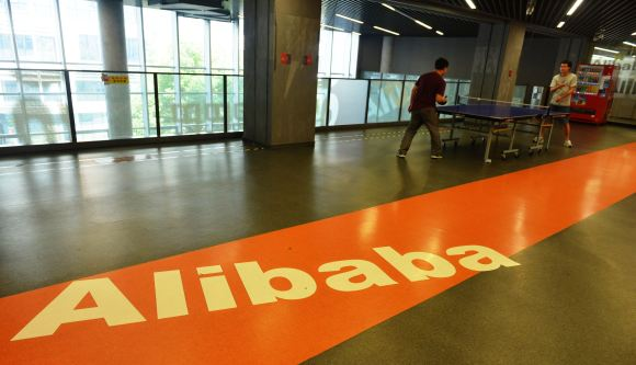 HANGZHOU, CHINA - SEPTEMBER 19: (CHINA OUT) An inside view of Alibaba Headquarters on September 19, 2014 in Hangzhou, Zhejiang province of China. Alibaba is to be officially listed in New York Stock Exchange today with financing scale of 25 billion USD, the largest IPO ever. (Photo by VCG/VCG via Getty Images)