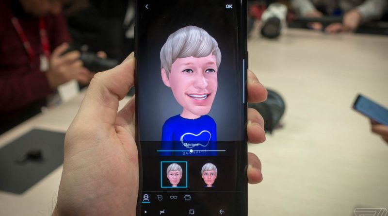 Samsung patent suggests video chatting with AR Emoji