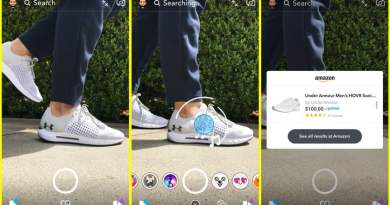 Snap, then shop? Snapchat's camera will soon buy stuff from Amazon