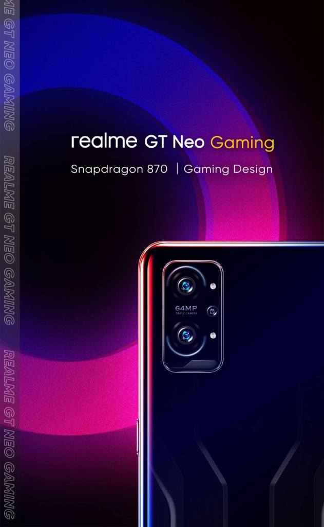 Realme gaming phone ad